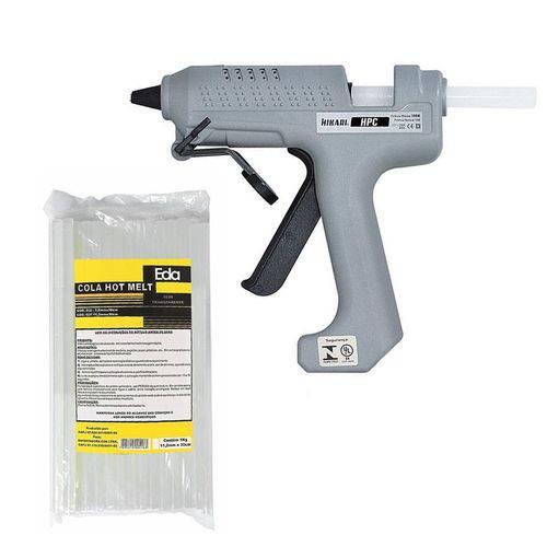 Tudo sobre 'Kit Pistola Cola Quente Hikari Hpc-280 / 1 Kg Cola Transpar'
