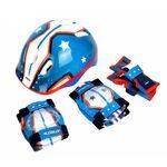 Kit Proteção Infantil Atrio Masculino Skate Bike Patins