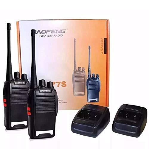 Kit 2 Radio Comunicador Profissional Ht Uhf 16 Canais 777S
