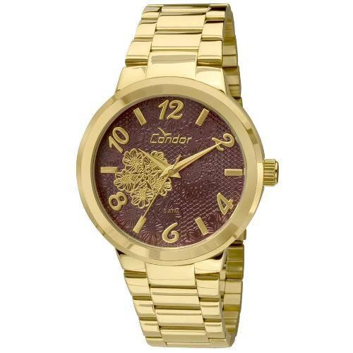 Tudo sobre 'Kit Relógio Condor Feminino Co2036db/K4r'