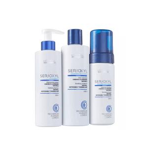 Kit Serioxyl Shampoo 250ml + Condicionador 250ml + Mousse 125ml Único