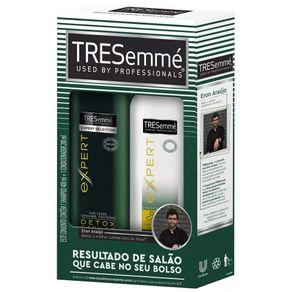 Kit Shampoo 400g+Condicionador 200g Detox Capilar TRESemmé
