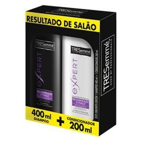 Kit Shampoo 400Ml + Condicionador Hidratação Profunda 200Ml - Tresemmé - Shampoo 400ml + Condicionador 200ml