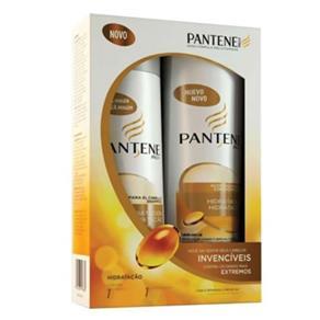Kit Shampoo 400ml e Condicionador 200ml Hidratação Pantene