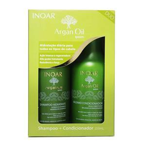 Kit Shampoo + Condicionador Argan Oil System - Inoar