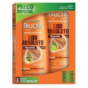 Kit Shampoo + Condicionador Fructis Liso 200ml