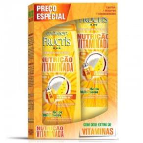 Kit Shampoo + Condicionador Fructis Nutrição Vitaminado 400ml