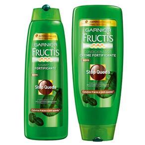 Kit Shampoo + Condicionador Fructis Stop Queda 300Ml