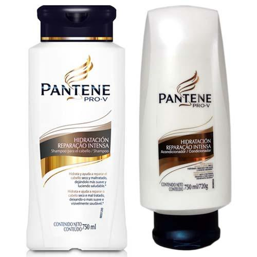 Kit Shampoo + Condicionador Pantene Reparação Intensa 750ml