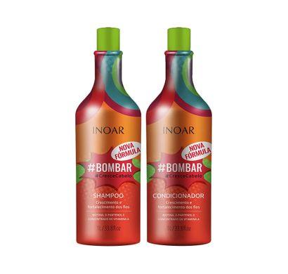 Kit Shampoo e Condicionador #Bombar 1L - Inoar