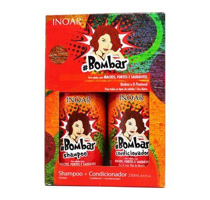 Kit Shampoo e Condicionador #Bombar 250ml - Inoar