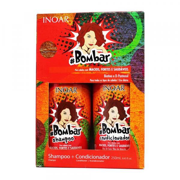 Kit Shampoo e Condicionador Bombar 250ml - Inoar