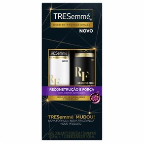 Kit Shampoo e Condicionador Reconstrução e Força Tresemme 400ml e 200ml