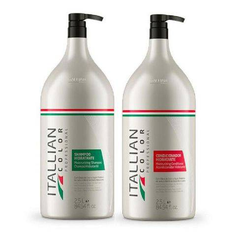 Tudo sobre 'Kit Shampoo Hidratante Itallian Color 2,5l'