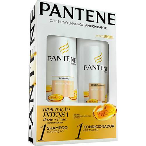 Kit Shampoo Pantene Hidratação 400ml e Condicionador Pantene Hidratação - 200ml