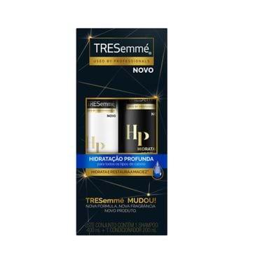Kit Shampoo Tresemme Hidratação Profunda 400ml + Condicionador 200ml