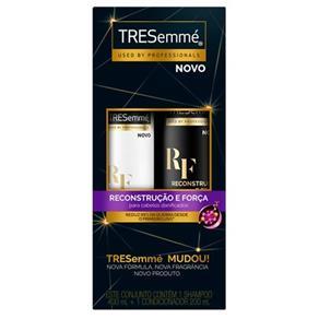Kit Shampoo Tresemme Reconstrução e Força 400ml + Condicionador 200ml