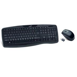 Kit Teclado e Mouse Genius Wireless Kb-8000x Usb - 31340005113