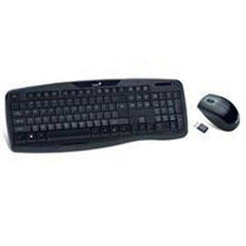 Kit Teclado e Mouse Genius Wireless Multimidia Kb-8000x Usb - 31340005113