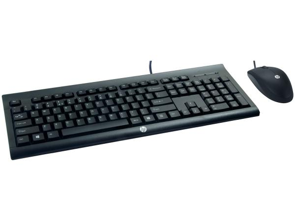 Kit Teclado e Mouse HP - C2500