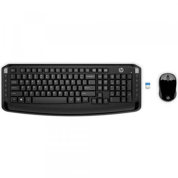 Kit Teclado e Mouse HP Wireless 300
