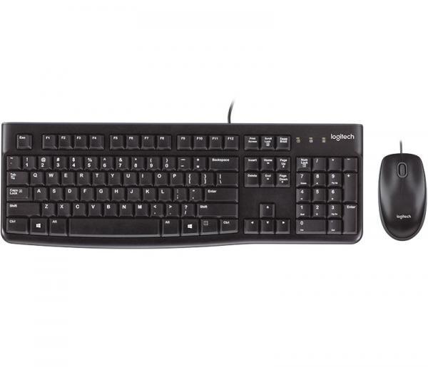 KIt Teclado e Mouse USB Logitech MK120