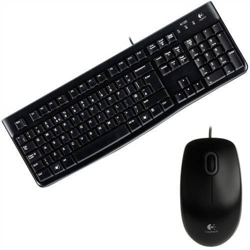 Tudo sobre 'Teclado e Mouse MK120 com Fio USB'