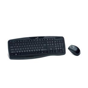 Kit Teclado e Mouse Wireless Genius - KB-8000X