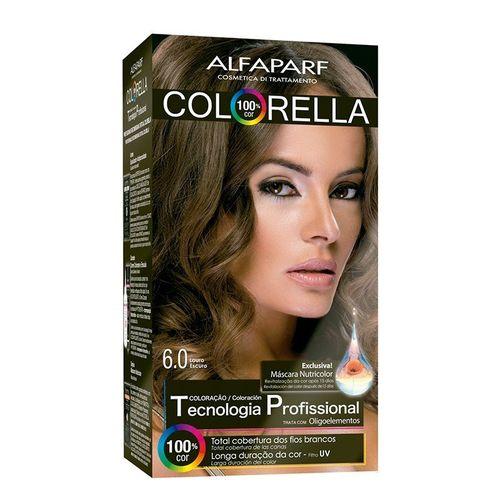Kit Tintura Colorella Louro Escuro - 6.0