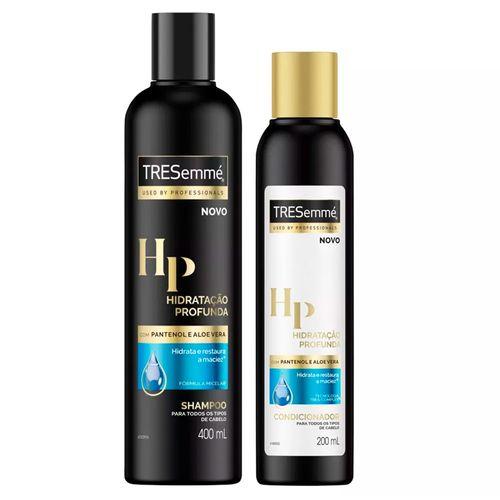 Kit Tresemmé Hidratação Profunda Condicionador 200ml + Shampoo 400ml