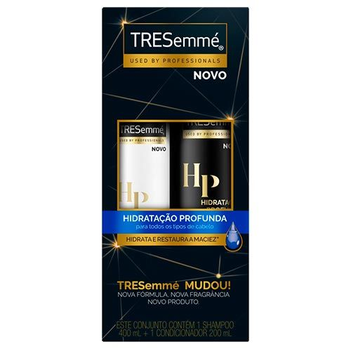 Kit Tresemme Hidratação Profunda Shampoo 400ml + Condicionador 200ml