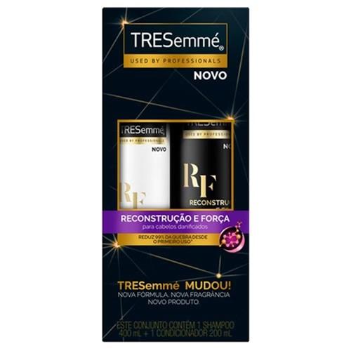 Kit Tresemme Reconstrução e Força Shampoo 400Ml + Condicionador 200Ml