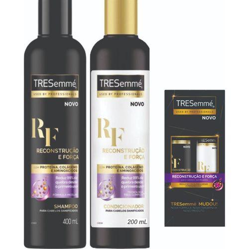 Kit Tresemmé Reconstrução e Força Shampoo + Condicionador