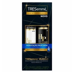 Kit Tresemmé Shampoo 400ml + Condicionador 200ml Hidratação Profunda