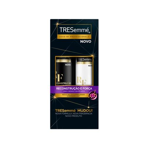 Kit Tresemme Shampoo 400ml + Condicionador 200ml Reconstrução e Força