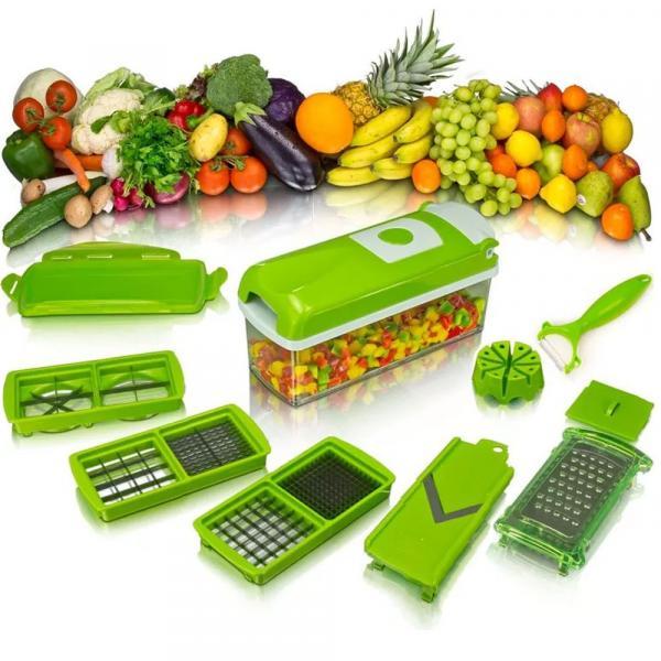 Tudo sobre 'Cortador e Fatiador Legumes, Frutas e Verduras - Nice Dicer'