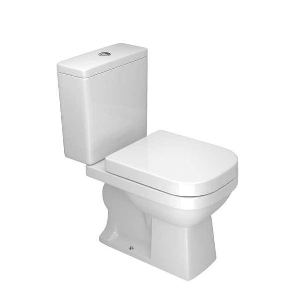 Kit Vaso Sanitário com Caixa Acoplada 3/6L Saída Vertical Quadra Branco Deca
