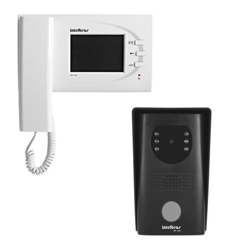 Kit Video Porteiro Handset VP 1000 Intelbras