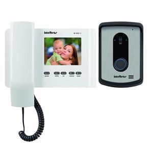 Kit Vídeo Porteiro Intelbras IV4010 HS LCD 4 Colorido