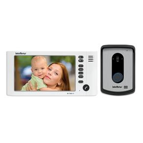 Kit Videoporteiro com Monofone Intelbras IV 7010 HF - Branco