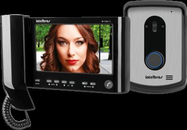 Kit Videoporteiro com Monofone - Iv 7010 Hs