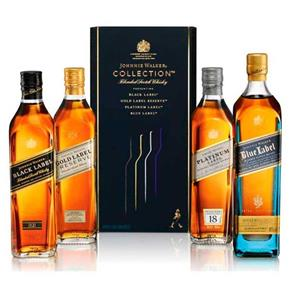Kit Whisky Johnnie Walker Collection X4 200ml
