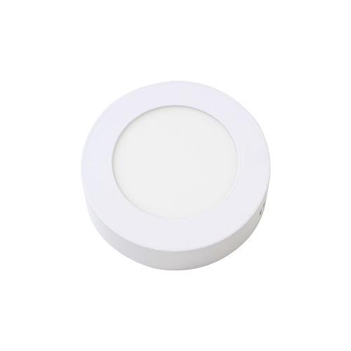 Kit 3x Painel Plafon Led 6w Luminária Sobrepor Redondo Branco Frio St534