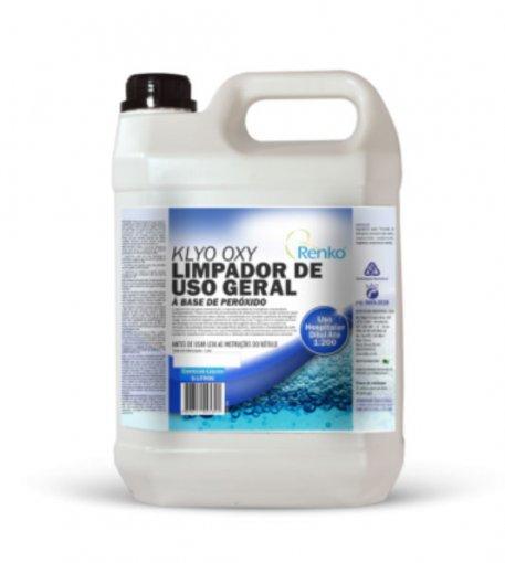 Klyo Oxy - Limpador de Uso Geral à Base de Peróxido 5 Litros - Renko
