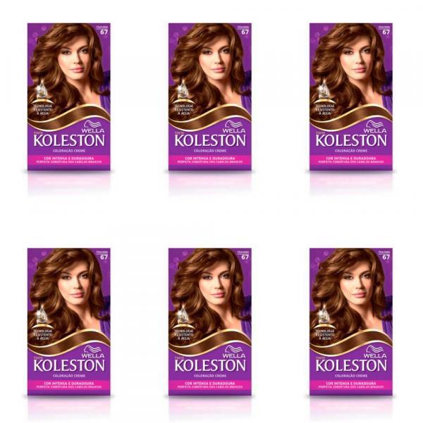 Koleston Tinta 67 Chocolate (Kit C/06)