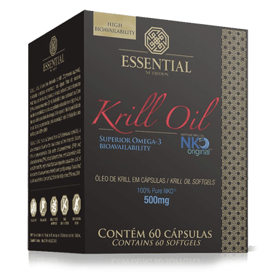 Krill Oil 60Cps - Essential Nutrition