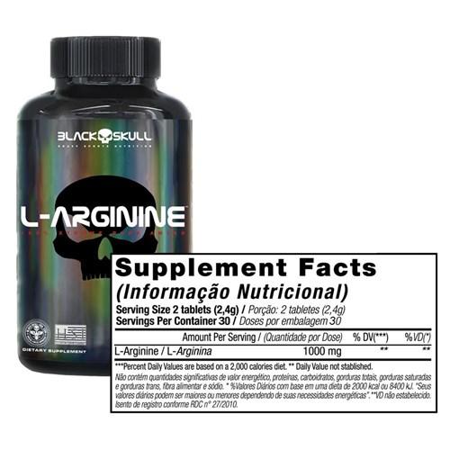 L-Arginine Black Skull 60 Tabs