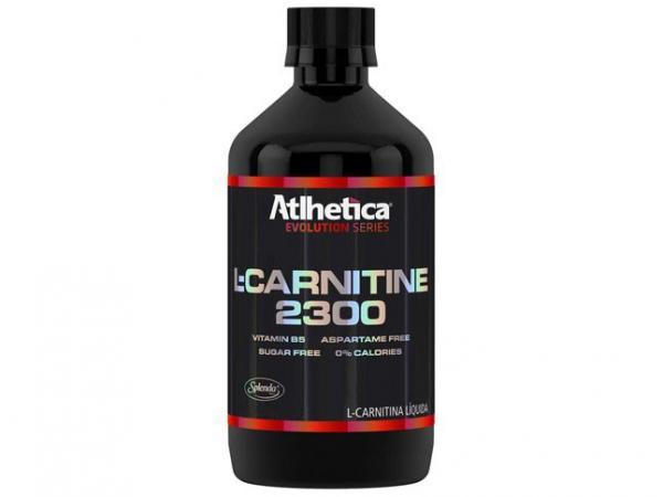 L-Carnitina 2300 - 480ml Abacaxi - Atlhetica