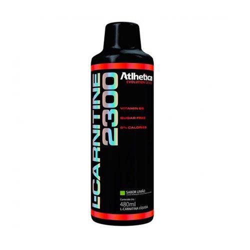 L-carnitina 2300 (480ml) Atlhetica Nutrition - Limão