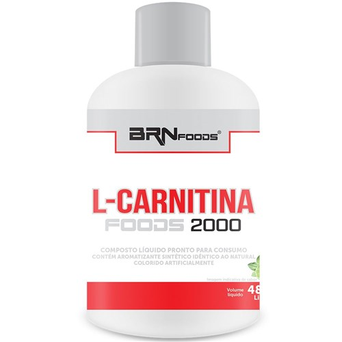 L-Carnitina 2000mg 480ml - Br Nutrition Foods